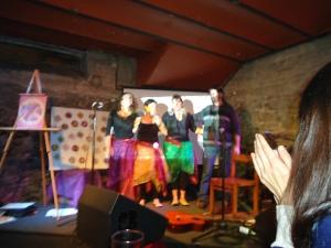 """Espectáculo """"3 Mujeres Desnudas""""-Bar Arte """"El Tartamudo"""" - Junio 2013"""